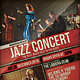Jazz Concert Flyer / Poster - GraphicRiver Item for Sale
