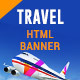 Travel-Ticket Booking-HTML Animated Banner 07 - CodeCanyon Item for Sale