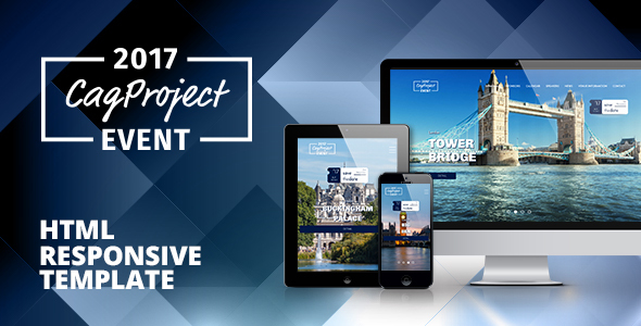 CAG Event & Activity - Responsive HTML Template