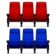 Cinema Empty Comfortable Chairs - GraphicRiver Item for Sale