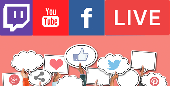 Livestream Social For WordPress - CodeCanyon Item for Sale