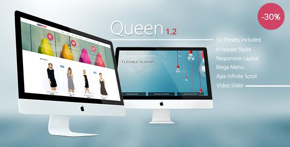 Queen - Responsive Shopify Theme - Fashion Shopify
