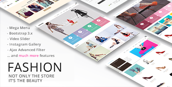Image of Fashion - Responsive Shopify Theme