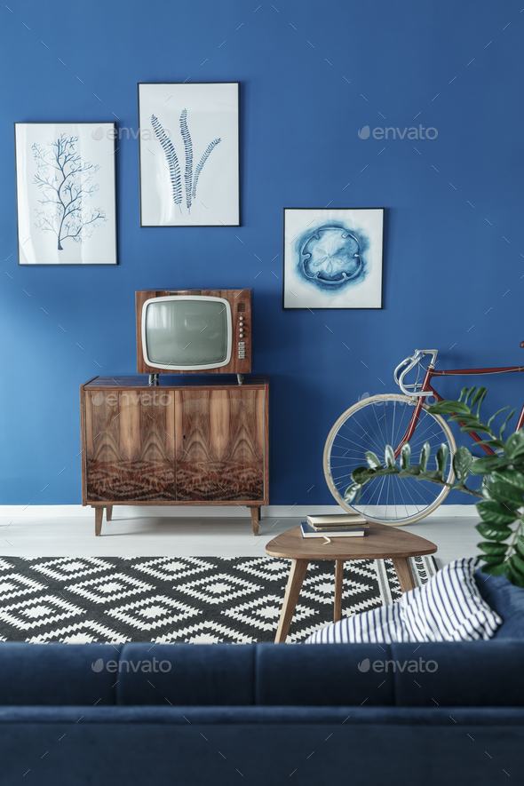 TV in room - Stock Photo - Images