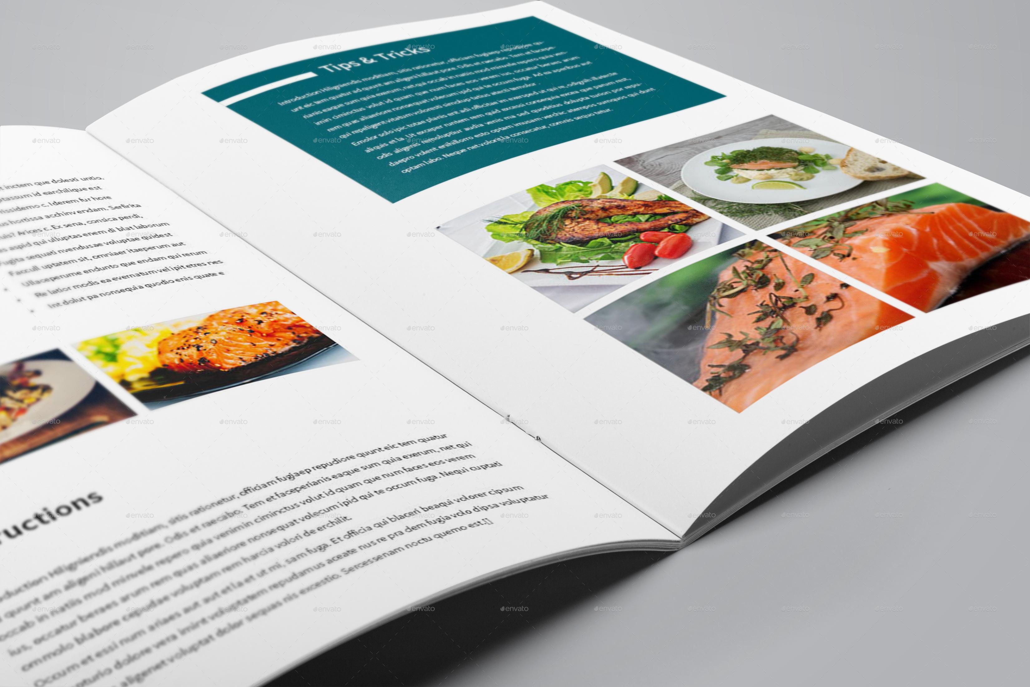 Recipe Book Template by bookrak | GraphicRiver