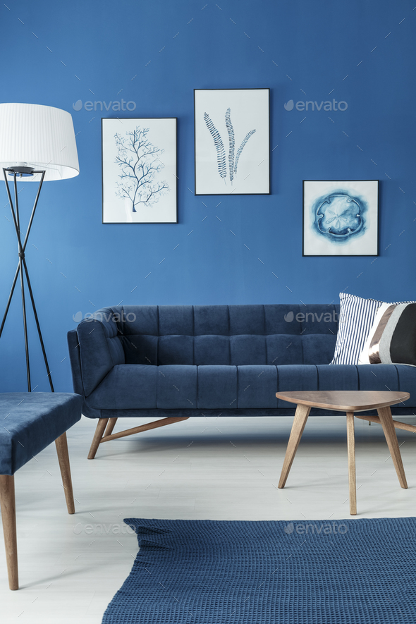 Sofa in living room - Stock Photo - Images