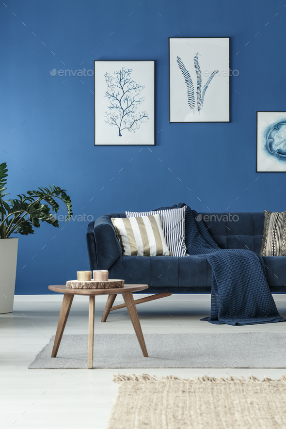 Living room with sofa - Stock Photo - Images