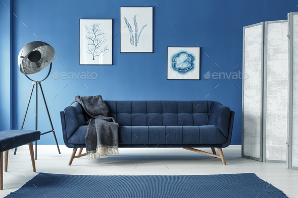 Room with couch - Stock Photo - Images