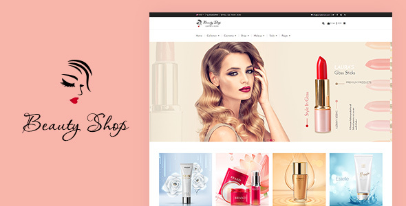 Cosmetics And Fashion Beauty Shopify Theme