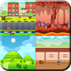 8 Different Game Backgrounds - GraphicRiver Item for Sale