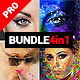 Premium - 4in1 Photoshop Actions Bundle - GraphicRiver Item for Sale