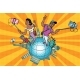 Family Tourists and Selfies - GraphicRiver Item for Sale