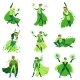 ECO Superhero Characters Set - GraphicRiver Item for Sale