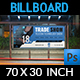 Trade Show Billboard Template - GraphicRiver Item for Sale