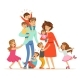 Family with Many Children - GraphicRiver Item for Sale