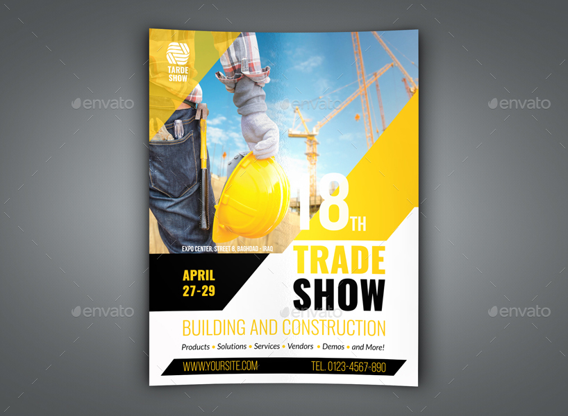 Trade Show Flyer Template trade show flyer