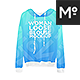 Woman Loose Blouse Mock-up - GraphicRiver Item for Sale