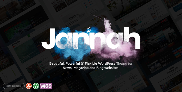 Jannah – WordPress News Magazine Theme