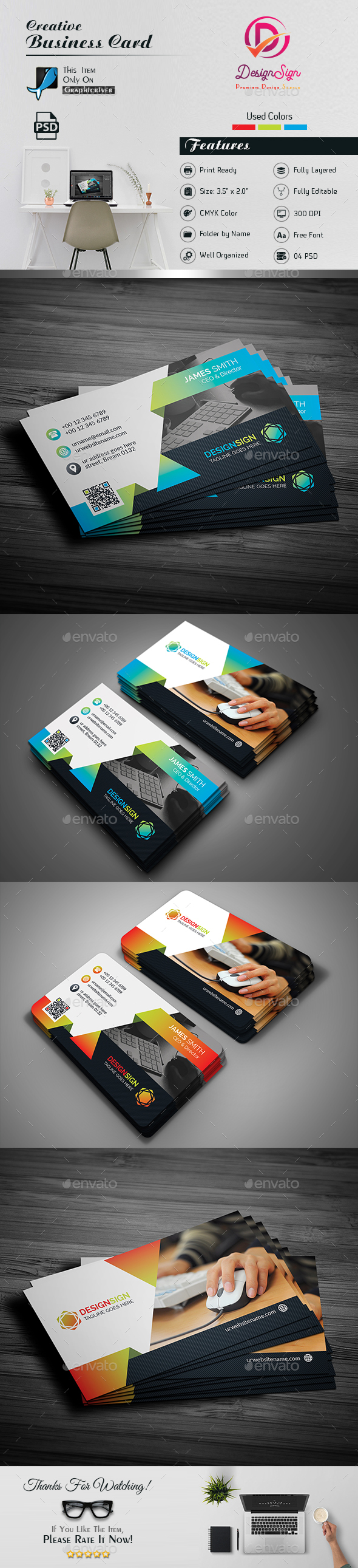 Attractive Business Card by DesignSign | GraphicRiver
