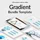Gradient Bundle Powerpoint Template Nulled