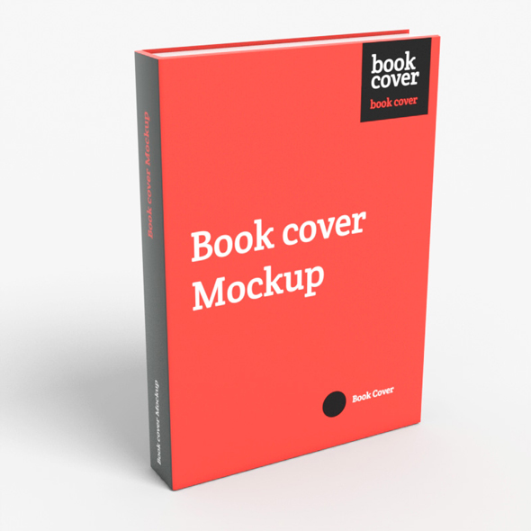 Book cover Mockup - 3DOcean Item for Sale