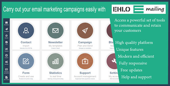 EHLO Mailing - Email Marketing & Marketing Automation Software - CodeCanyon Item for Sale