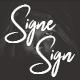 Signesign | Signature Brush Font