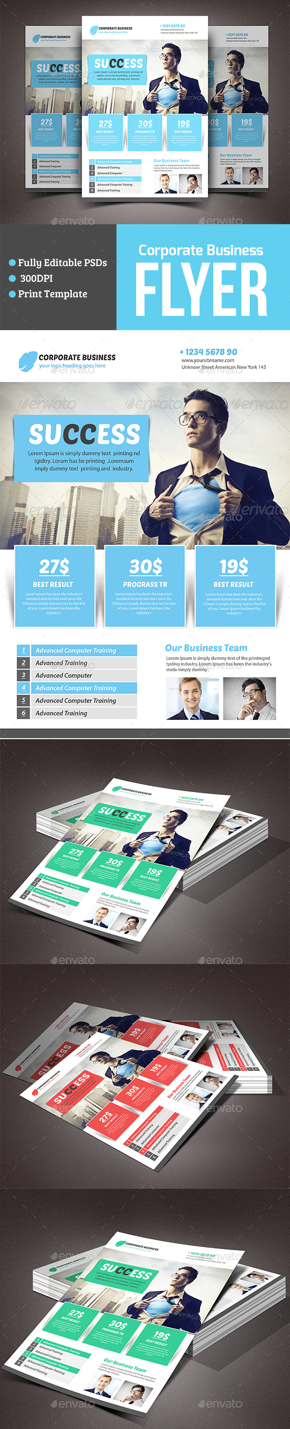 Modern Business Flyer - Corporate Flyers