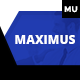 Maximus | Responsive Multi-Purpose Adobe Muse Template - ThemeForest Item for Sale