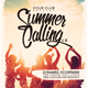 Summer Calling Vol. 4 Flyer/Poster - GraphicRiver Item for Sale