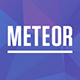 Meteor - Beautiful Portfolio and Resume WordPress Theme - ThemeForest Item for Sale
