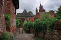 Red village Colonges-la-Rouge - PhotoDune Item for Sale