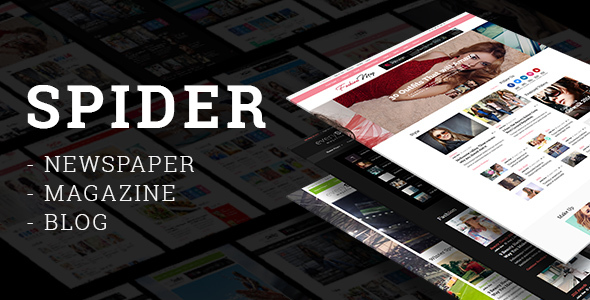 Spider - Newspaper, Magazine & Blog Theme