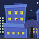 Cartoon City Landscape Backgrounds - VideoHive Item for Sale