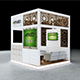 Exhibition Booth Design 3Mx3Mx3M - 3DOcean Item for Sale