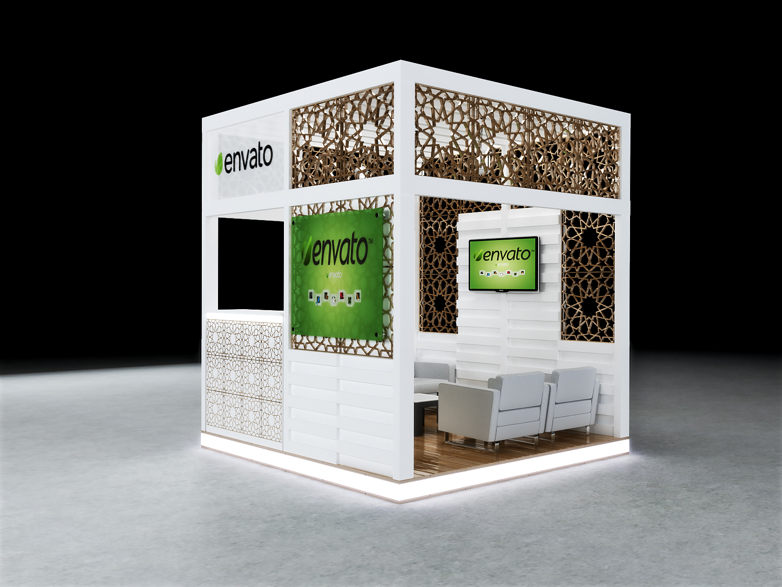 Simple Exhibition Stand Lighting : Exhibition booth design mx m by mackna docean