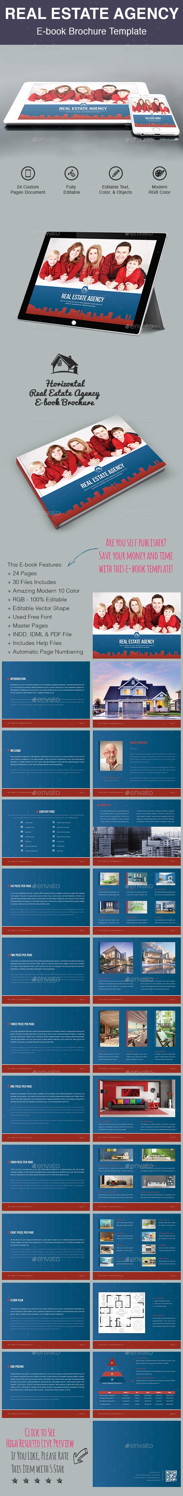 Real Estate Agency E-Book Brochure Template - Digital Books ePublishing