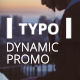 Dynamic Typo Promo - VideoHive Item for Sale