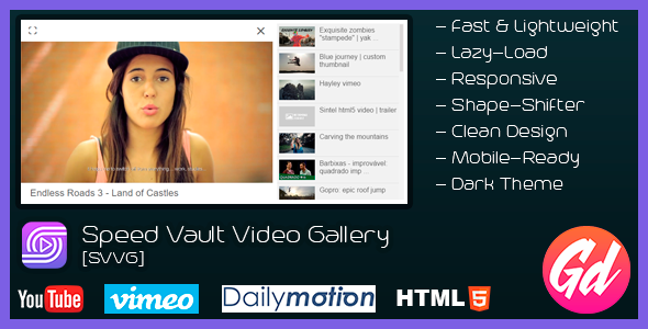 Speed Vault Video Gallery - CodeCanyon Item for Sale