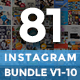 Instagram Promotion Template Bundle, Promogram Vol.01 - 10 - GraphicRiver Item for Sale