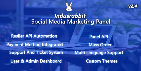 Indusrabbit - SMM Panel - CodeCanyon Item for Sale
