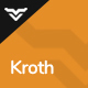 Kroth - Business/Consulting WordPress Theme Nulled