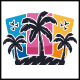 Colorful Palms Beach Logo
