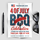 4 Of July BBQ Party - GraphicRiver Item for Sale