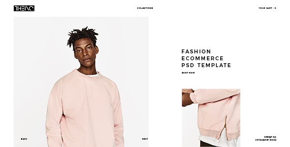 THEINC - Fashion Ecommerce PSD Template