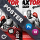 Boxing School Poster Templates - GraphicRiver Item for Sale