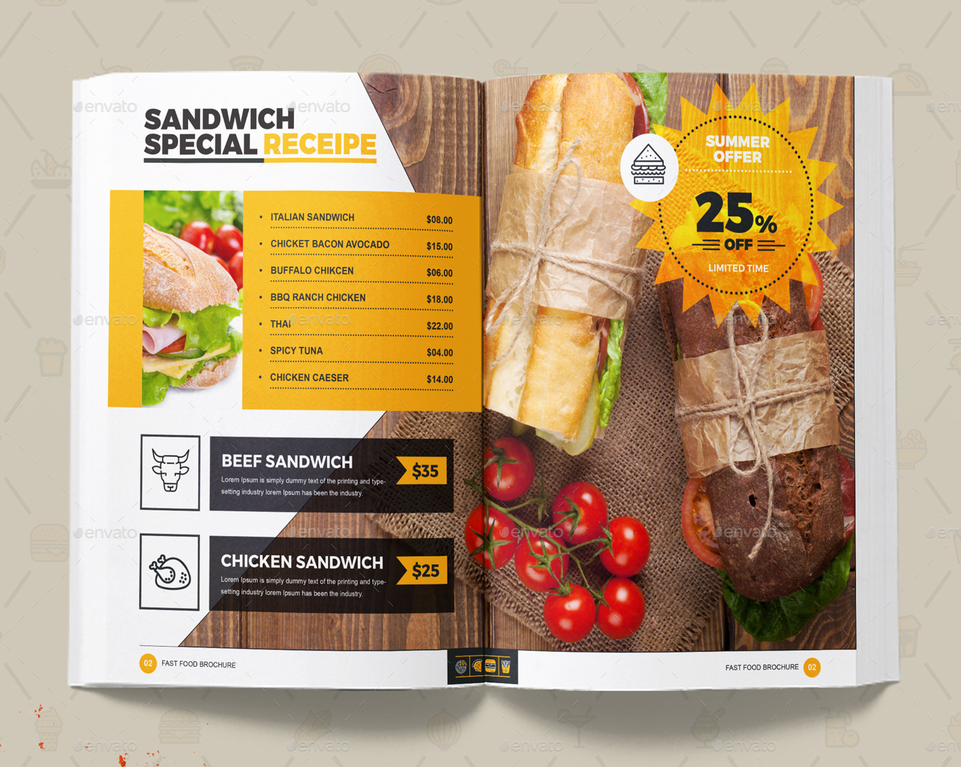 Attached Invoice Word Branding Identity For Fast Food  Restaurants  Cafe By Contestdesign Quickbooks Invoice Templates with Paypal Buyer Protection Invoice Word  Image Setsandwichspecialreceipejpg  Definition Of A Receipt Excel