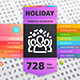 Holiday Thematic Collection of Line Icons - GraphicRiver Item for Sale