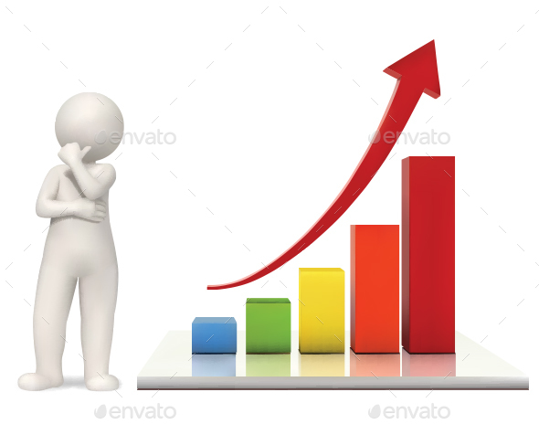 3D Bar Chart - Concepts Business