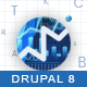 Finance Business Responsive Drupal 8 Theme | Tradingblock Nulled
